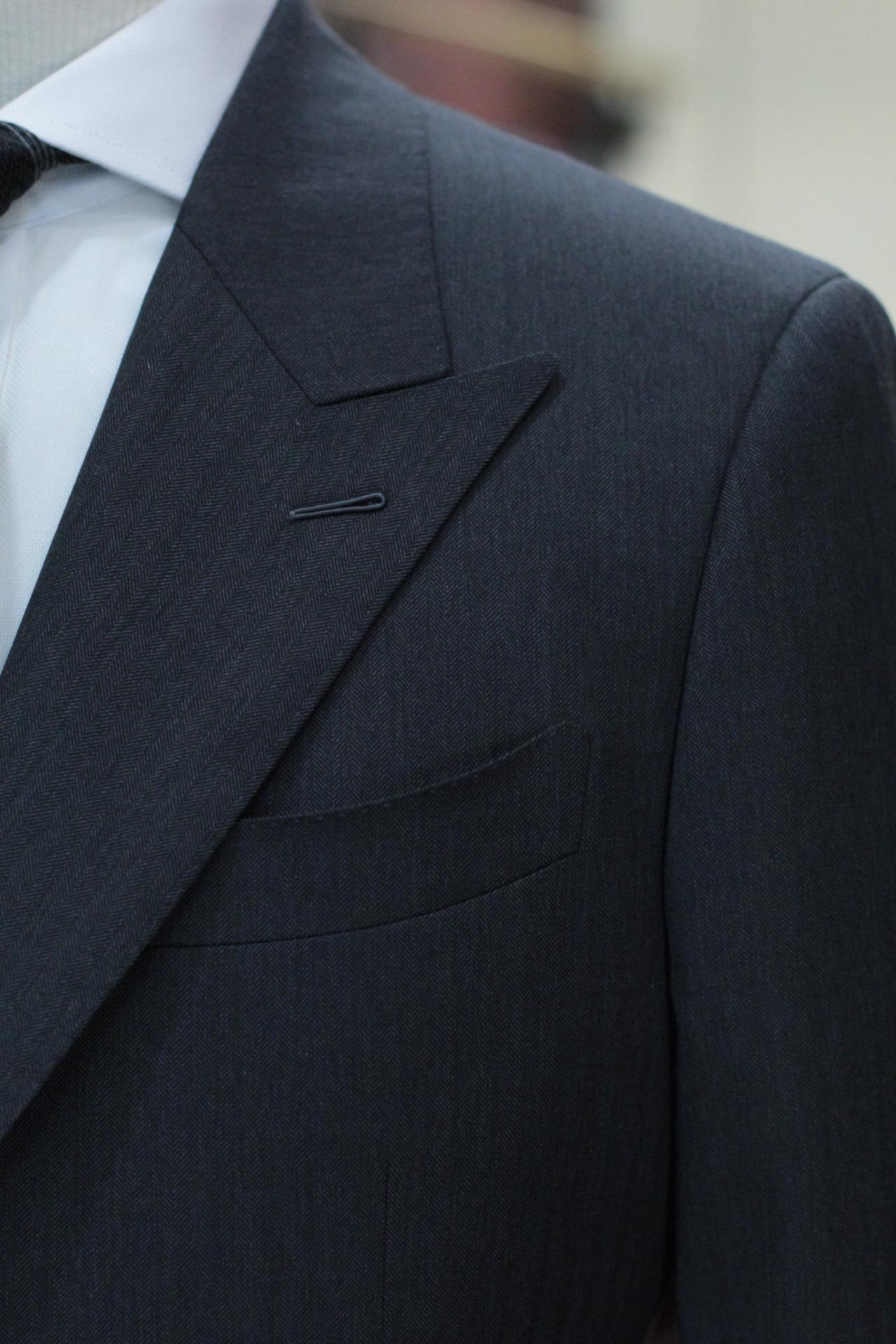 Milanese Buttonhole : milanese, buttonhole, Suits®, Singapore, Tailor, Milanese, Buttonhole,