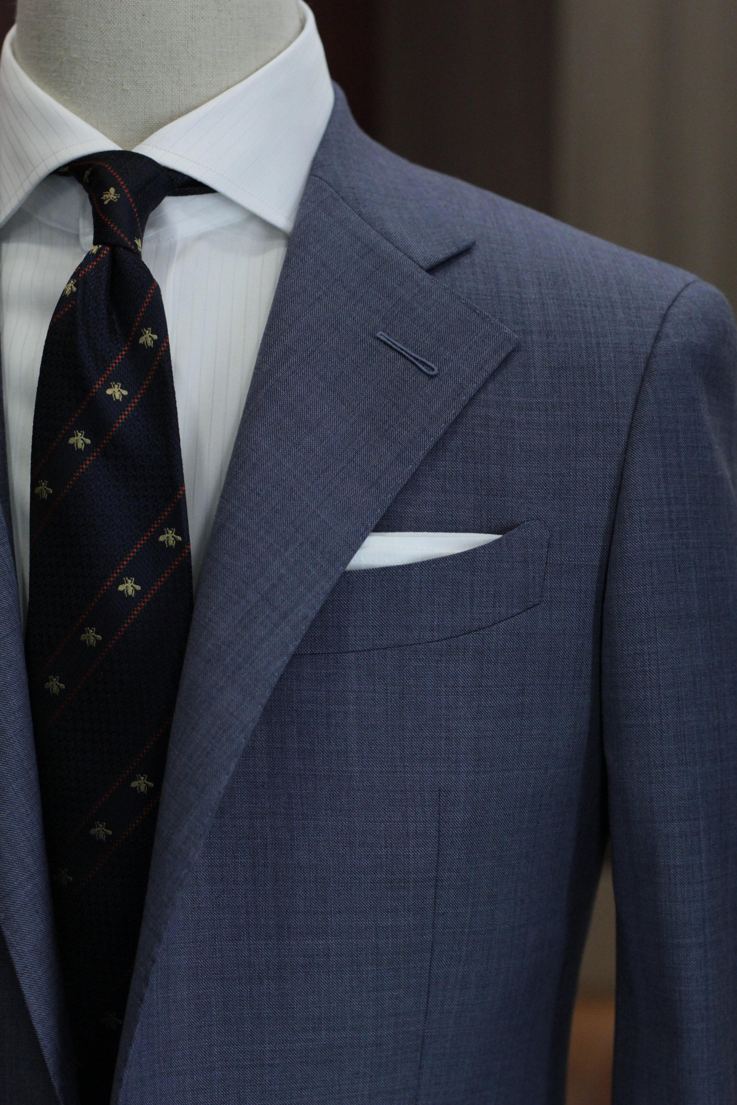 Milanese Buttonhole : milanese, buttonhole, Suits®, Singapore, Tailor, Milanese, Buttonhole