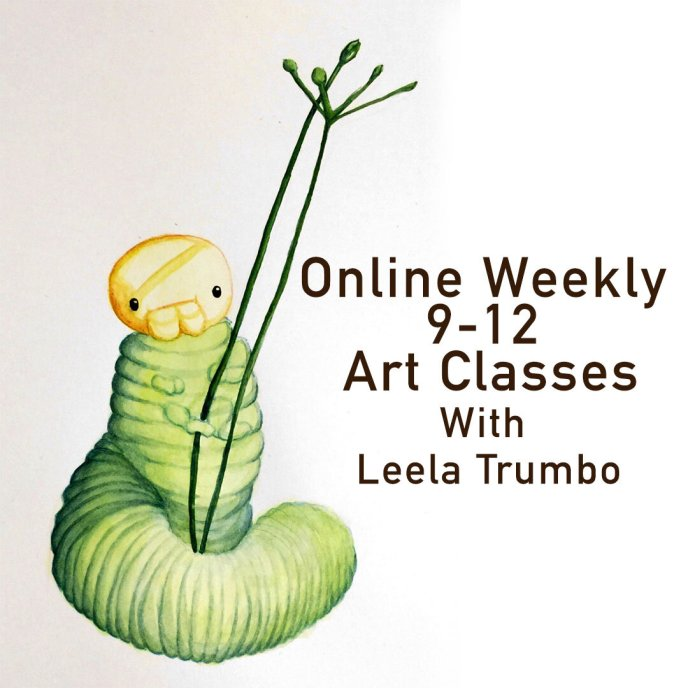 Online Weekly Art Classes for 9 - 12 year olds — Cloud 9
