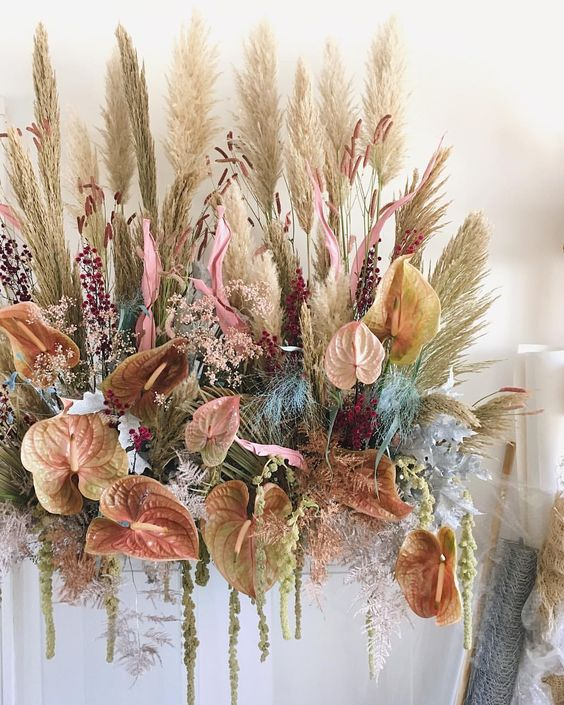 Pampas Grass Decor Hobby Lobby : pampas, grass, decor, hobby, lobby, Favorite, Dried, Floral, Resources, Lauren, Koster, Creative