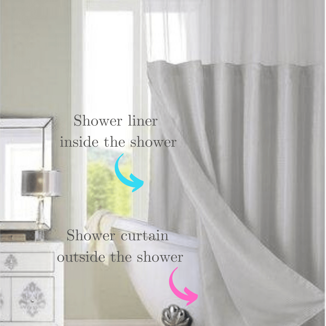 shower liners curtains mold and mildew