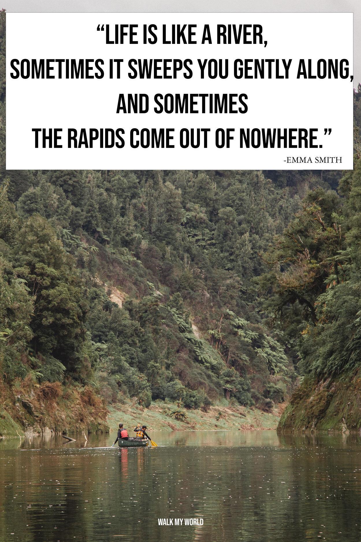 Life Like River Quote : river, quote, River, Quotes, Inspire, Perfect, Photo, Caption, World