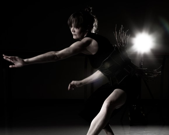 her body as words — Peggy Baker Dance Projects
