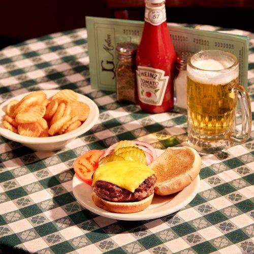 Hamburguesa JG Melon Nueva York