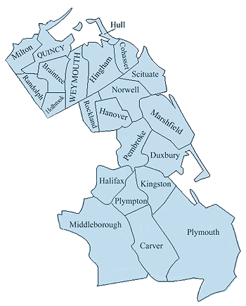 Map Of South Shore Ma : south, shore, South, Shore, Public, Insurance, Adjusters, Burst,, Water, Damage, Claims, Experts.