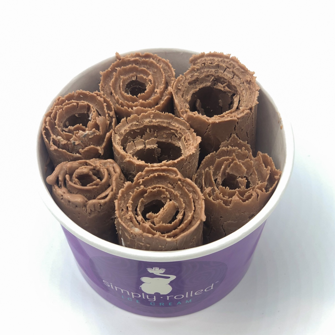 simply rolled ice cream