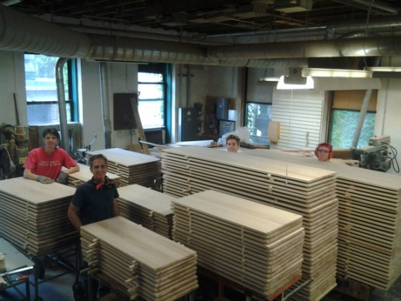 Students in the Shop — Saint John's Abbey Woodworking