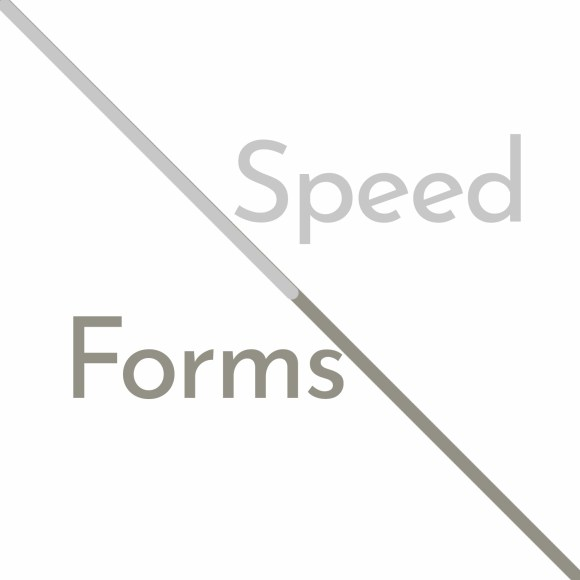 Speed Forms — DESIGNcentering