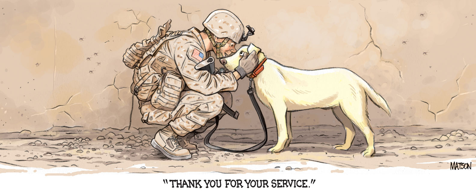 military dogs 1 love