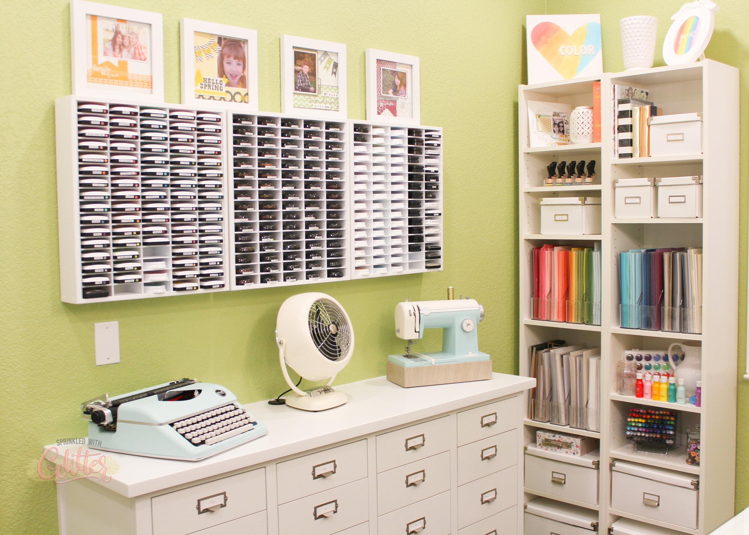 Save On Organize More Ink Storage Organizer Craft Room Organization Sprinkled With Glitter