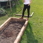 How To Build Raised Beds From Reclaimed Bricks Alice De Araujo