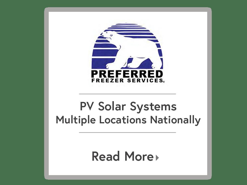 Preferred Freezer Services — Our Work — EnterSolar