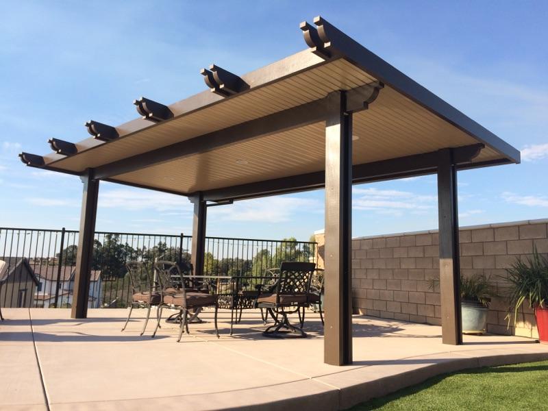 freestanding patio covers superior