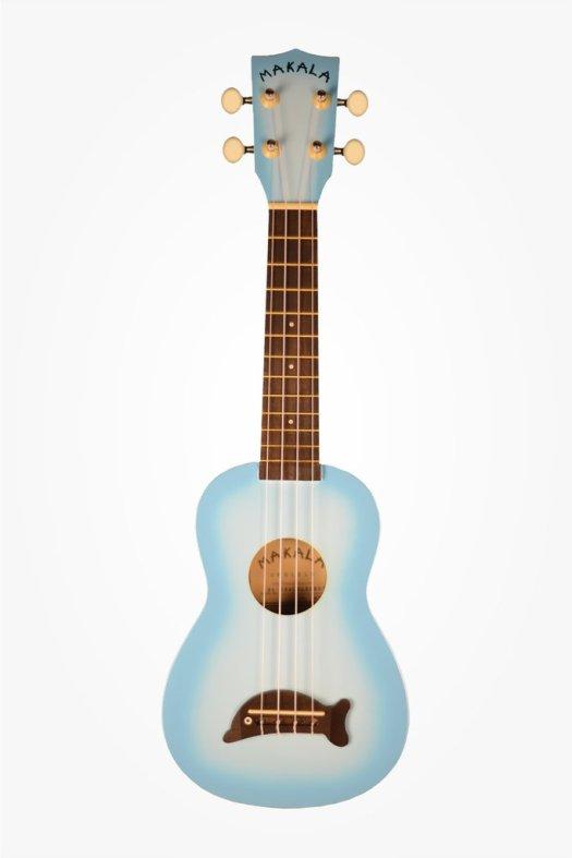 Kala Soprano Ukulele Dolphin MK-SD (Blue Burst) — T-Roy's Music ...