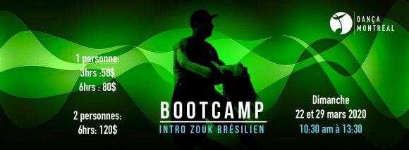 Bootcamp: Intro to Brazilian Zouk March 29 — Dança Montréal
