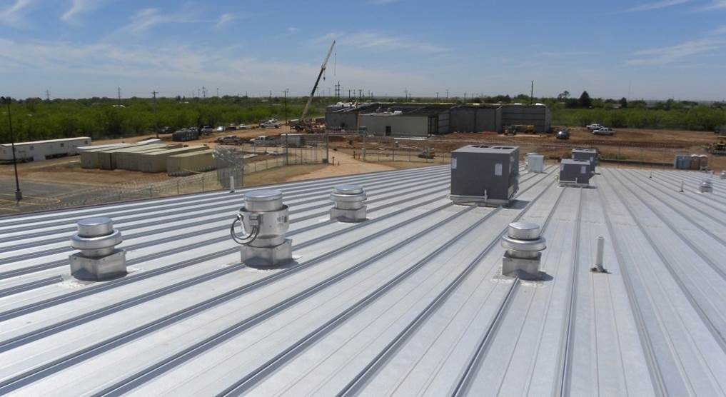 exhaust fans roof curb systems