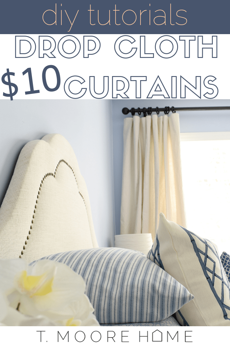 how to diy cheap curtain panels one