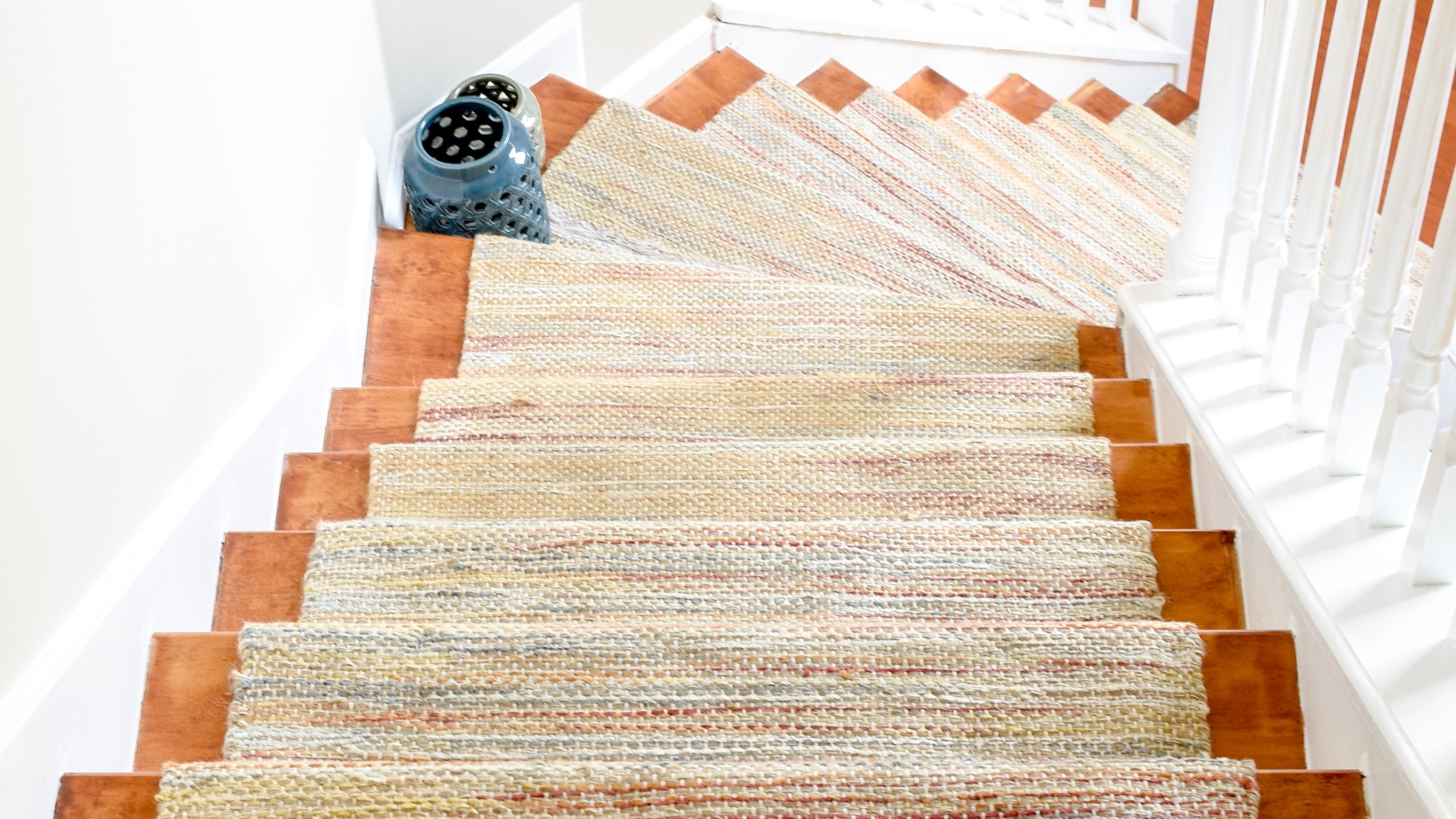 Diy Hardwood Staircase Makeover Replacing Carpet With Wood Treads | Wood Treads And Risers | Step | Coretec Plus | Light Oak | Remodel | Custom
