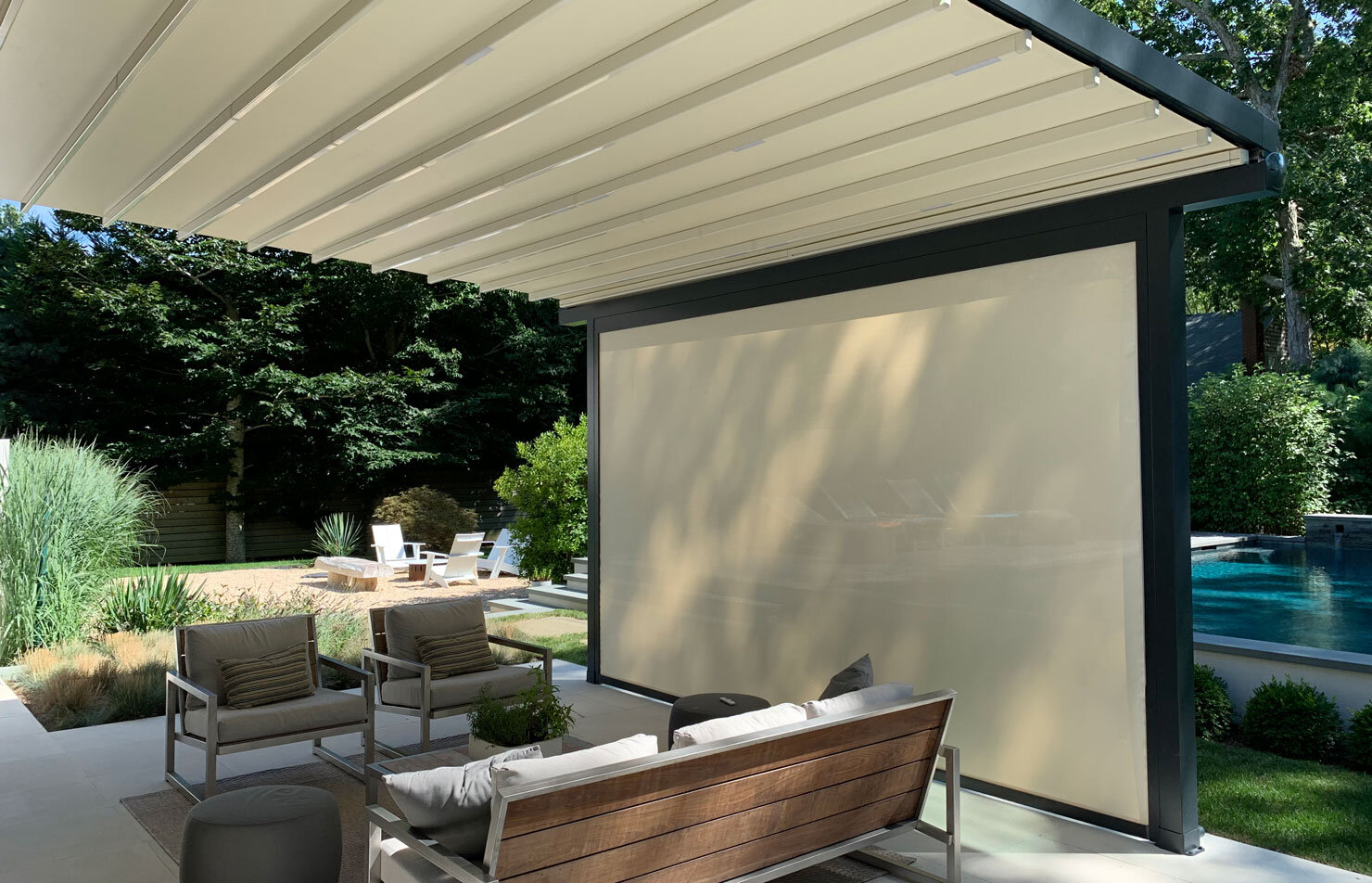 motorized screen shades blinds