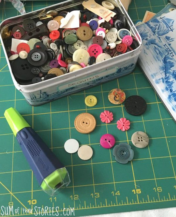 Needle Minder Diy : needle, minder, Vintage, Button, Needle, Minder, Threader, Their, Stories, Craft