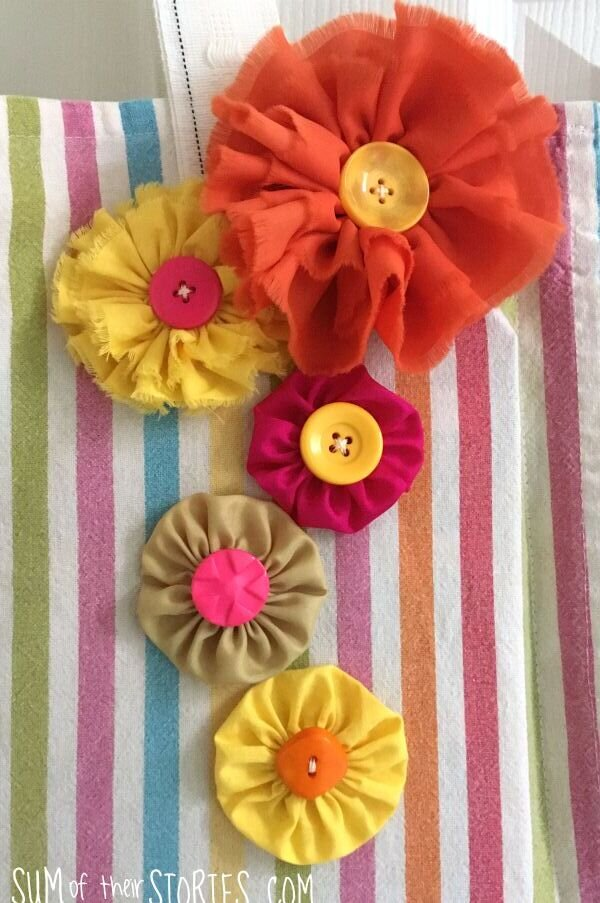 How To Make Flowers Out Of Fabric : flowers, fabric, Spring, Flowers, Fabric, Scraps, Their, Stories, Craft