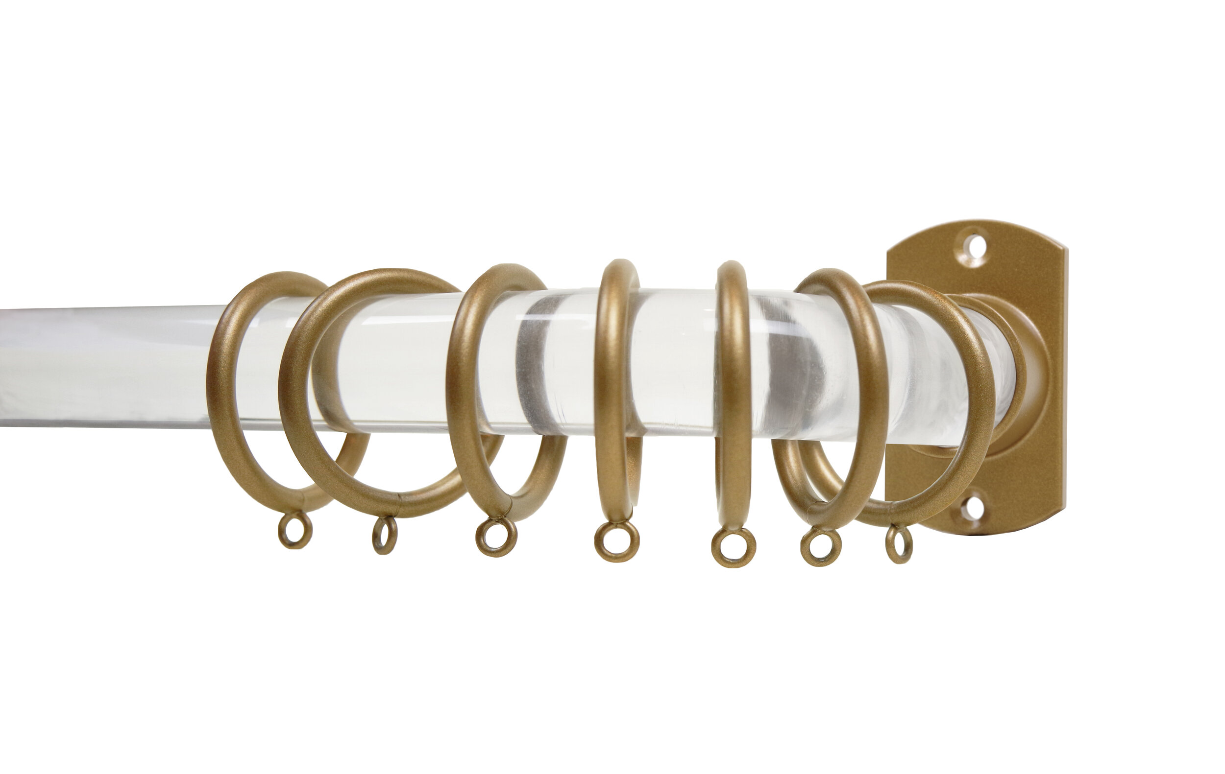 crown hardware french return rod