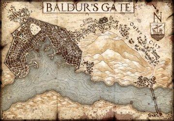 Sword Coast Adventurer s Guide Map Prints Bundle: 5th Edition DnD Jared Blando