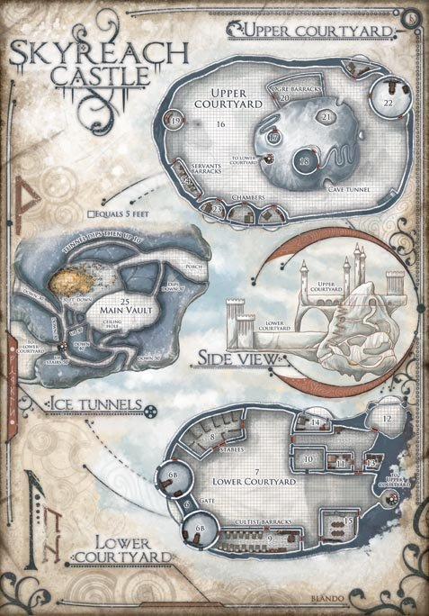 Hoard Of The Dragon Queen Hunting Lodge Map : hoard, dragon, queen, hunting, lodge, Hoard, Dragon, Queen, PRINTS, Bundle:, Edition, Jared, Blando