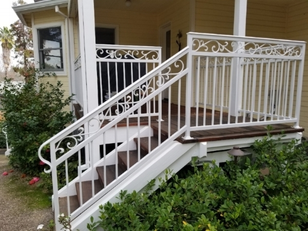 Irish Iron Best Sacramento Ironworks Metal Gates   Iron Handrails For Stairs   Cheap   Staircase   Spanish Style   Wood   Craftsman Style