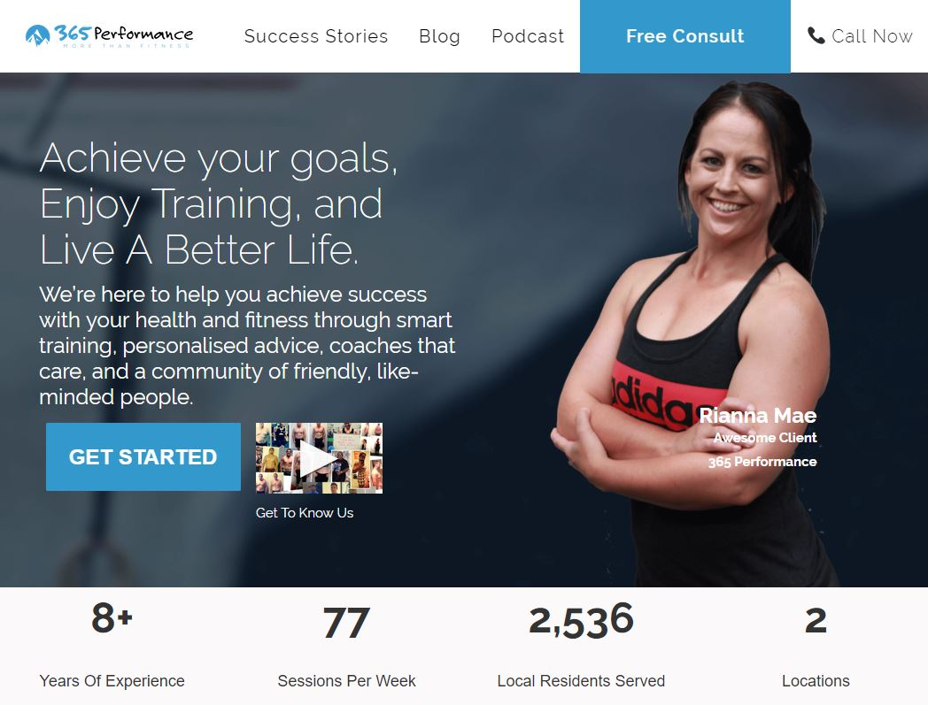 Storybrand 4 Examples Of Gym And Fitness Websites Results Co