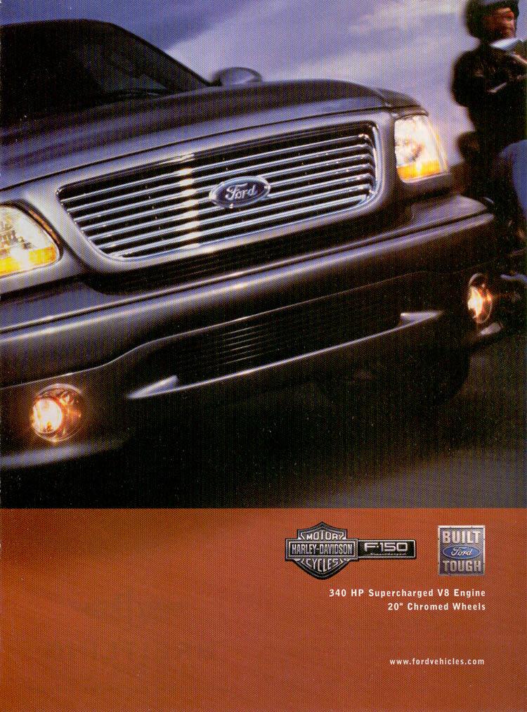 2002 Ford Harley Davidson : harley, davidson, F-150,