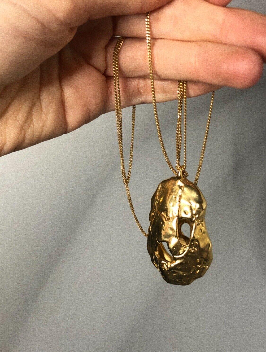 Broken Necklace Chain : broken, necklace, chain, Broken, Necklace, Växa, Jewellery, Handmade, Silver
