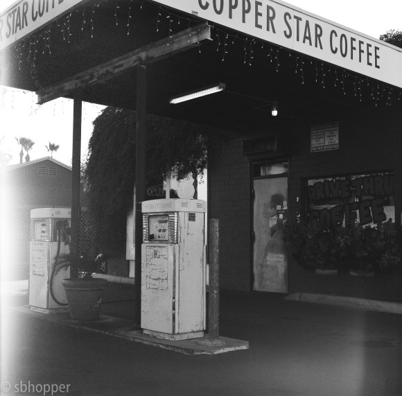 Copper Star Coffee, Melrose neighborhood, Phoenix.