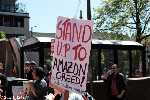 March on Amazon, 12 May 2018, Seattle.