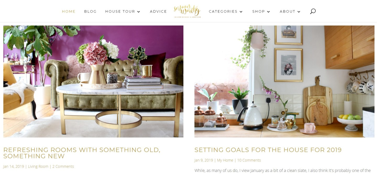The fabulous luxurious boho blog of  www.swoonworthy.co.uk