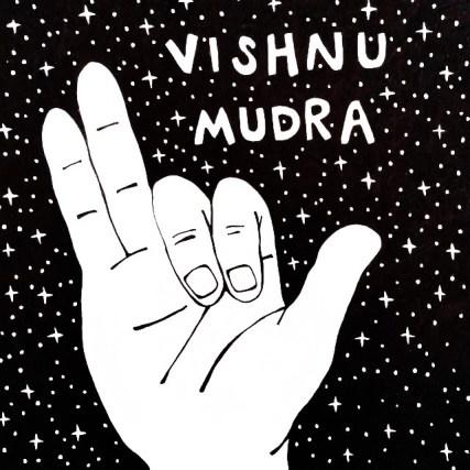 Mudra of the Month - Vishnu Mudra — Balance Garden