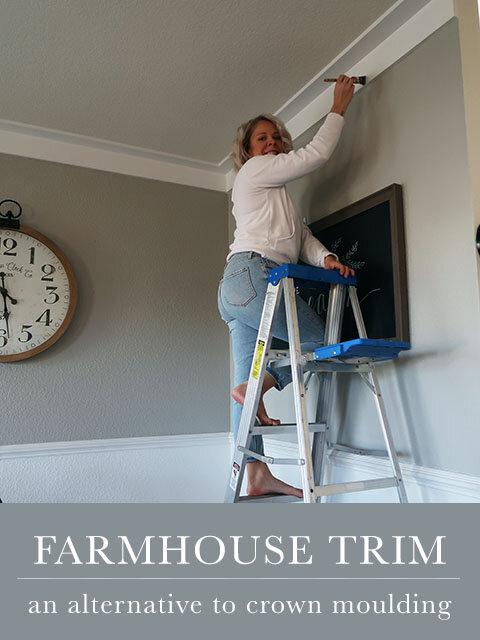 Farmhouse Moulding : farmhouse, moulding, Farmhouse, Style, Alternative, Crown, Moulding, Megan