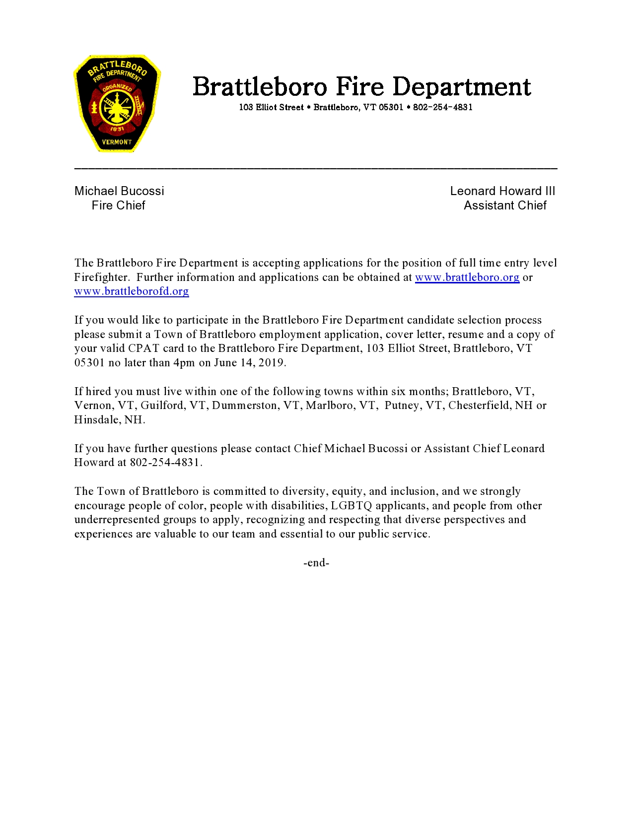 Fire Captain Cover Letter Fire Mutual Aid