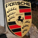 Porsche Logo Wall Art With Video Leo The Russian