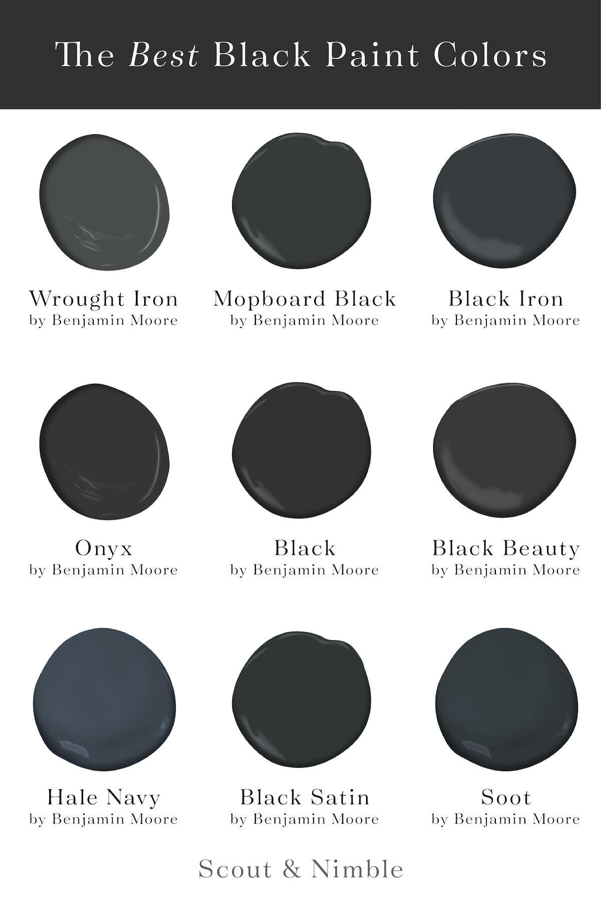 Benjamin Moore Blackberry : benjamin, moore, blackberry, Moody, Vibes, Black, Paint, Colors, Scout, Nimble