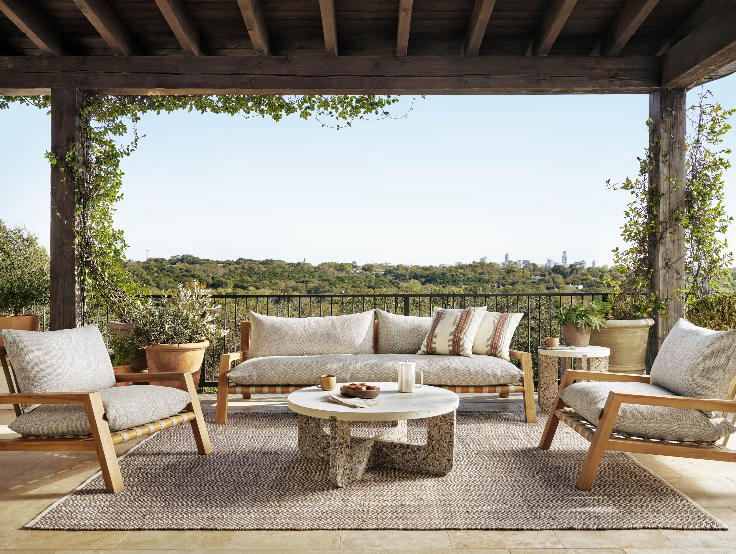 small space styling solutions outdoor