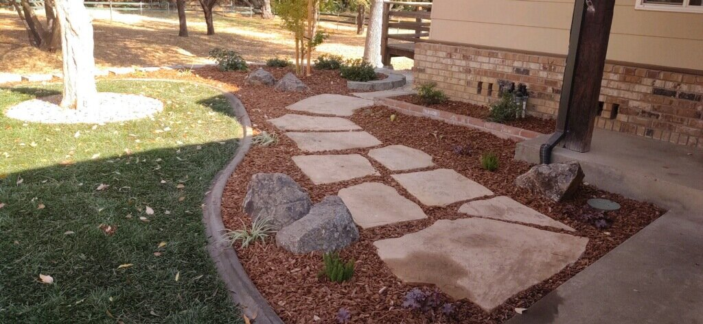 flagstone patio landscaping company