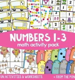 Kindergarten Math Packs — From the Pond [ 900 x 900 Pixel ]
