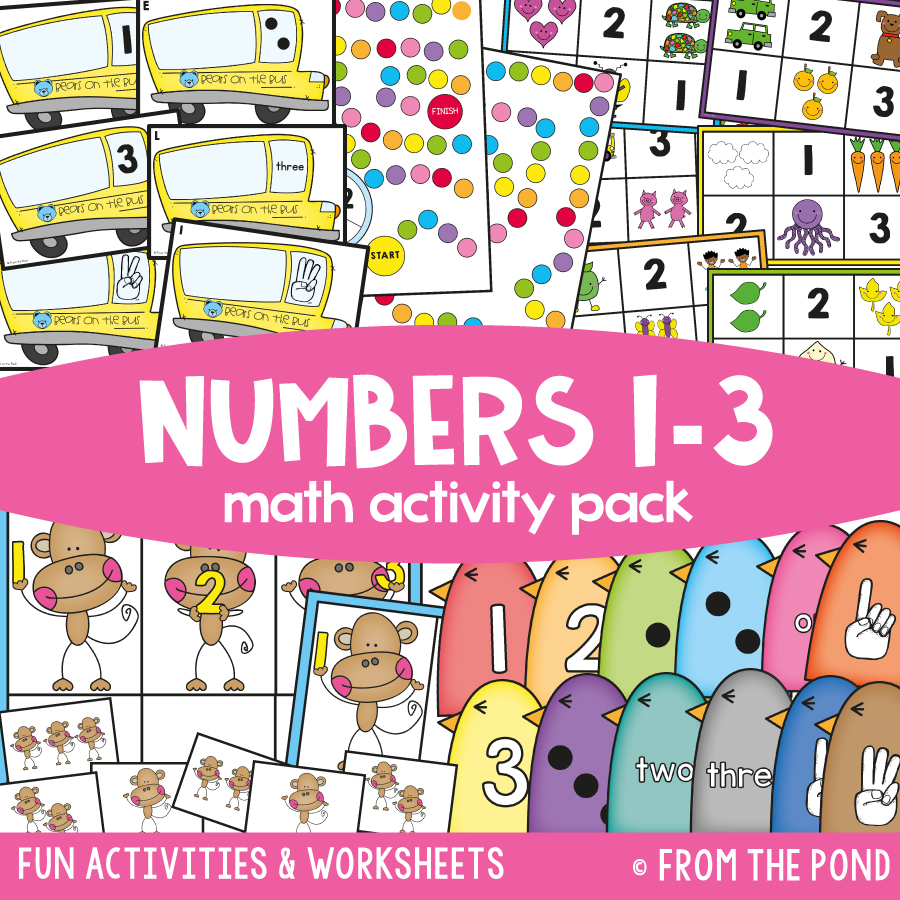 hight resolution of Kindergarten Math Packs — From the Pond
