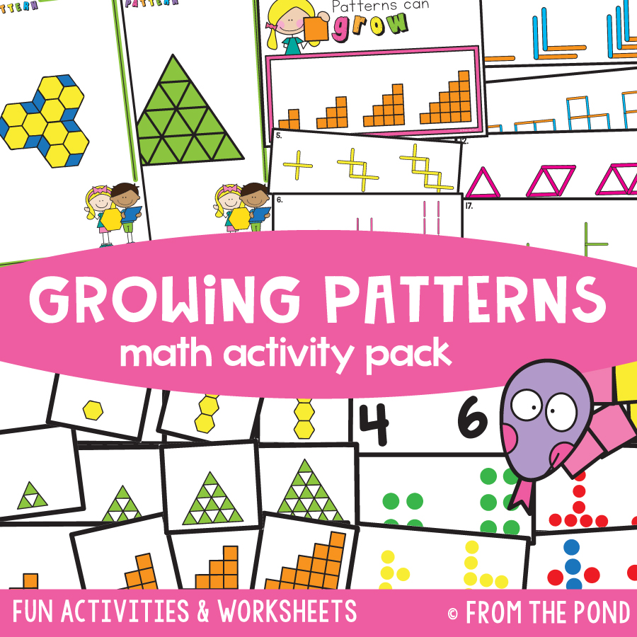 medium resolution of Kindergarten Math Packs — From the Pond