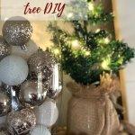 Dollar Tree Christmas Tree Rustic Decoration Megan Plus Five