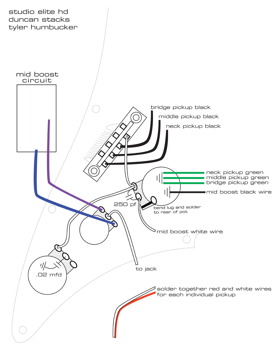 Studio Wiring Diagram