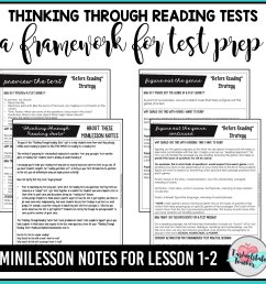 FREE Reading Test Prep Passages — Tarheelstate Teacher [ 1000 x 1000 Pixel ]