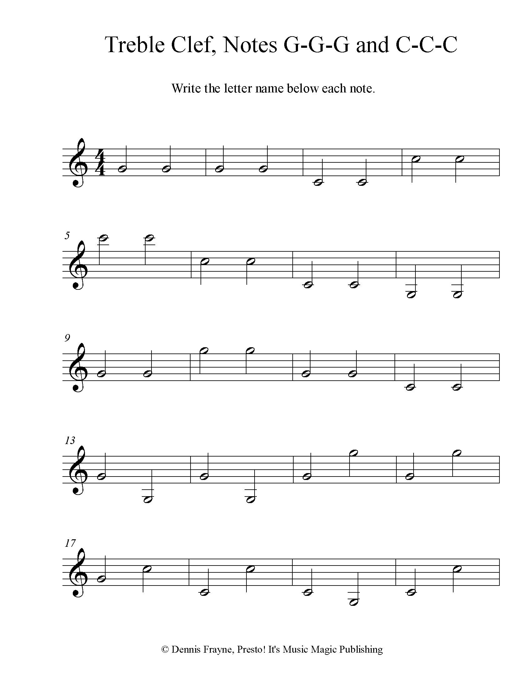 hight resolution of FREE! Printable Music Note Naming Worksheets — Presto! It's Music Magic  Publishing