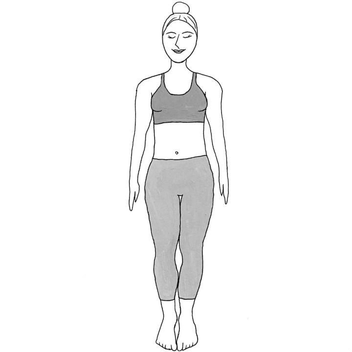 Mountain Pose - Tadasana Samasthiti: International Yoga Day